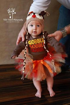Fall time fun Hat and Tutu Set by lizziebearboutique on Etsy