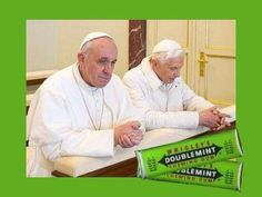Doublemint Popes