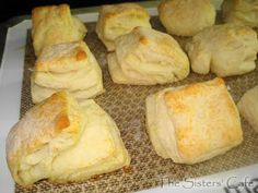Flaky Buttermilk Biscuits | The Sisters Cafe