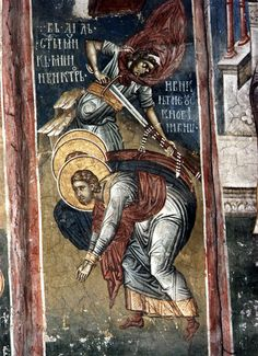 Saint Mina turned down an offer to sacrifice to pagan gods, and received a most cruel torment, after which he was beheaded in 304. The body of the holy martyr was ordered to be burned. Christians gathered at night, from the fire, the surviving remnants of the martyr and put his name on the temple which had been built to honor the end of persecution in the Great Mines of suffering and death.
