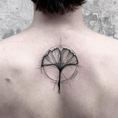 Harmonious Tattoos Fuse Wispy Lines With Solid Blackwork to Highlight Beauty of Duality - My Modern Met