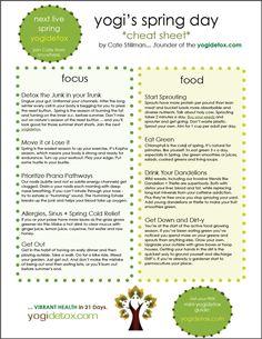 Ayurvedic Diet - Adjustments for Spring Season - Learn more: http://www.foodpyramid.com/diets/ayurvedic-diet/ #ayurveda