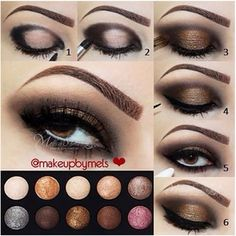 gorgeous fall #makeup #eyes tutorial