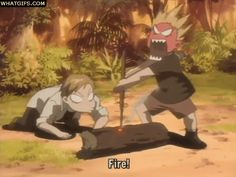 Funny anime GIF | Anime Amino