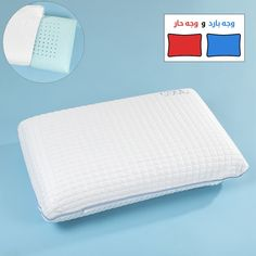 وسادة فوم جيل فيلنتد Pillows Bathroom Scale Pillow Cases