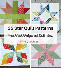 Make your next star quilt pattern with this twinkling star quilt block! The Arkansas Star is a four-pointed star that looks most attractive in two colors or two shades of the same color. For a scrappy look, make the pieces with different fabrics.