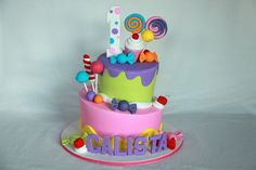 Cute Candyland Cake