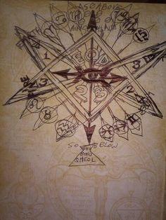Unicursal Hexagram of Dagon