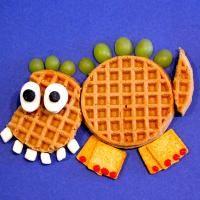 Yummy dinosaur snack from Summer's classroom!