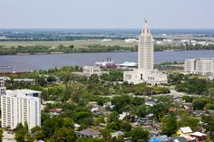 LSU3609 Baton Rouge aerial | Louisiana Law Review