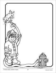 Bildergebnis für Firefighter printble