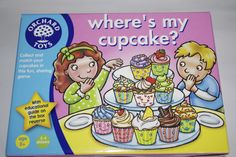 If you know me (HonieMummy), you know I love cake and especially 'Kids in the Kitchen'. As well as a fabulous, fun and colourful educational game that teaches sharing and manners - you get a cup cake recipe card that's easy for the kids to follow. See the full review ...http://honiebuk.wordpress.com/2012/06/03/wheres-my-cupcake-review-and-competition/