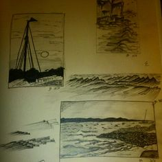 A few sketches from 11 years ago. Pencil on 150gr cartridge paper