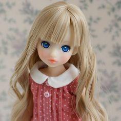 思ったんだけど、こういう髪の色を亜麻色って言うんじゃないかな~(〃ω〃) .  違うかな?  #ruruko#rurukodoll