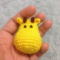#giraffe #jirafa #amigurumi #hechoamano #crochet :) by zhoe_artesanias
