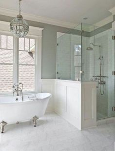 Modern/Antique Bathroom