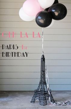 Paris Themed Birthday Party....you know I would