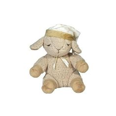 Cloud-b Sleep Sheep ayudara a tu bebé a quedarse maravillosamente dormido con los 4 diversos sonidos relajantes que tiene. Tiene una correa de velcro con la que fácilmente se puede conectar de una cuna, car seat o carriola.