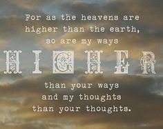 Isaiah 55:9 KJV