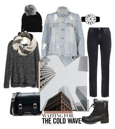 """""""Denim in the City"""" by ewa-kamila ❤ liked on Polyvore featuring Gap, Rosendahl, M.i.h Jeans, River Island, Dr. Martens, Steve Madden, UGG and MANGO"""