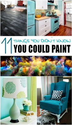 11 Things You didn't know you could paint -