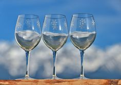 Verre à vin flocon blanc Création : Vagabonde Crédit Photo : JP.Noisillier/nuts.f