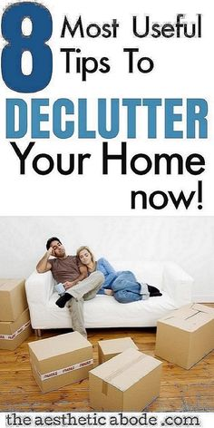 These easy decluttering hacks will help you declutter your house real quick and will make it look clutter free even if it's packed with stuff that you don't need. Click through to find 10 simple decluttering tips for when you are feeling overwhelmed and don't know where to start. These tips will help you get organized and get rid of the clutter in no time thereby reducing stress. Declutter your home now with these hacks. #springcleaning #decluttering #declutter