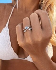 Quality & brilliance of a diamond without breaking your bank! Available in 10K & 14K white, yellow & rose gold. Choose CZ, Moissanite or Diamond center stone. Alternative Engagement Rings are now more desired than ever. Shop our Moissanite Collection today. Split Payments available at checkout & as always, check for SALES! Best Eyebrow Makeup, Finger, Alternative Engagement Rings, Open Ring, Diamond Are A Girls Best Friend, Promise Rings, Fashion Rings, Ring Designs, Diamond Rings