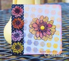 A notebook from the $1 bin gets a makeover with the help of ColorBox®️️ Chalk Ink, ColorBox®️️ Art Screens, ColorBox Premium Dye Ink Sprays! by Stephanie Barnard and ColorBox Surfacez™️ Ink! Check out how Tami did the magic here: http://blog.clearsnap.com/2014/02/1-project-notebook-makeover-tami-sanders/ - Clearsnap Blog
