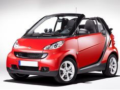 Smart Fortwo Cabrio Convertible this might be my next car!!