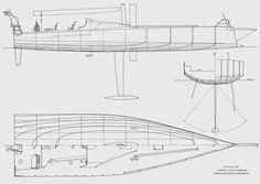 Master Boat Builder with 31 Years of Experience Finally Releases Archive Of 518 Illustrated, Step-By-Step Boat Plans Volvo Ocean Race, Yacht Design, Boat Design, Sailboat Drawing, Model Sailboats, Sailboat Plans, Model Boat Plans, Boat Projects, Home Jobs