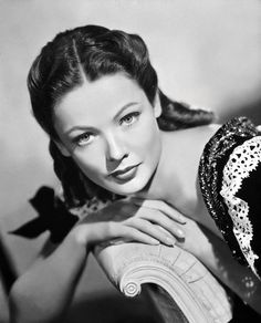 "Gene Tierney: In my opinion, this woman may have been ""THE"" most beautiful woman in Hollywood!!!"