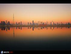 Dubai Skyline by Manu Gopal on 500px