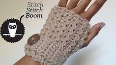 CROCHET How to #Crochet Beautiful Victorian Style Wrist Arm Cuff #TUTORIAL #181 - YouTube