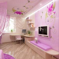 Pink Bedroom Design For A Little Princess Kidsomania Pink Bedroom Design, Pink Bedroom For Girls, Kids Bedroom Designs, Pink Bedrooms, Kids Room Design, Room Ideas Bedroom, Princess Theme Bedroom, Princess Bedrooms, Princess Room