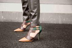Love my Escada shoes! www.style4style.com