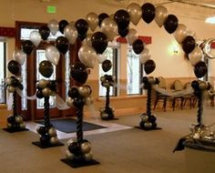 elegant balloon arch - Google Search