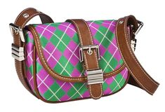 Argyle Across the Body Bag. Imagine this bag paired with a tee and jeans, while running around the city doing errands.  20% off sale