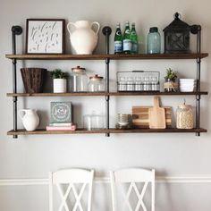 I have a soft spot for pipe shelves! http://liketk.it/2qdQk @liketoknow.it #liketkit