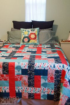 Come What May quilt top done! | Jaybird Quilts