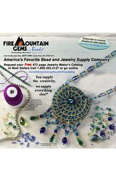 Jewelry Design - Single-Strand Necklace with Swarovski Crystal Beads, Seed Beads and Glass Beads - Fire Mountain Gems and Beads