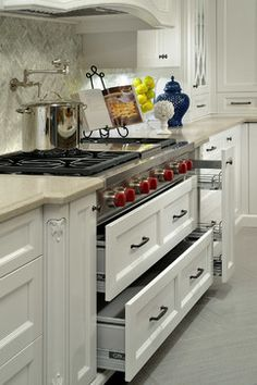 Custom Home Richmond Hill Ontario Traditional Kitchen Cabinets