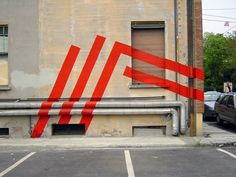 Icone 03 project in Modena, Italy, designed by Eltono Supergraphics – Transforming Space: Graphic Design for Walls, Buildings and Sp. Retail Signage, Wayfinding Signage, Environmental Graphic Design, Environmental Graphics, Street Installation, Street Art Graffiti, Mural Art, Street Artists, Public Art