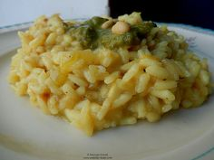 Risotto with basil pesto by Jamie Oliver. Risotto, Basil Pesto, Jamie Oliver, Tasty, Ethnic Recipes, Food, Celery, Essen, Meals