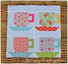 The Sewing Chick   Teacup Block Tutorial