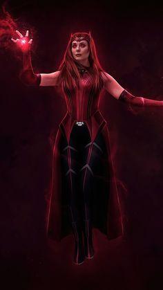Marvel Comics Superheroes, Marvel Avengers Movies, Marvel Fan Art, Marvel Films, Wanda Marvel, Ms Marvel, Studio Marvel, Marvel Universe, Scarlet Witch Avengers