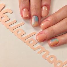 40 Cute Nail Design Ideas For Stylish Brides Chic Nails, Stylish Nails, Self Nail, Nailed It, Dipped Nails, Minimalist Nails, Dream Nails, Nagel Gel, Cute Nail Designs