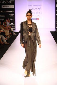 """IT's COMPLICATED"" Roma Narsinghani - Lakme Fashion Week F/W 2012 Read @ www.lemotsupreme.blogspot.com"