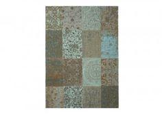 alfombra chenille patchwork de MA Salgueiro