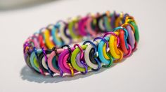Life Survival Colorful Bracelets  Find them at The Scented Bean  Art Market